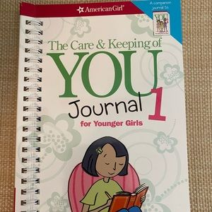 """American Girl """"Care & Keeping of You"""" book"""